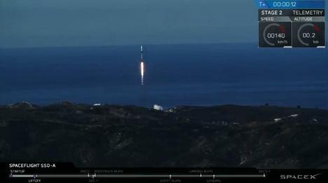 Lanzado con éxito el satélite estudiantil ESEO