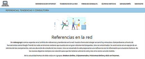 La plataforma rubengrcgrc cambia su formato web