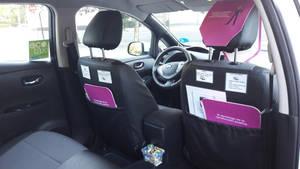 La primera flota de Taxis Positivos llega a Madrid