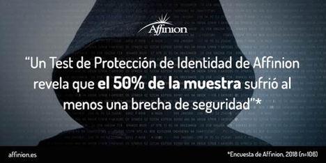 Las brechas de seguridad afectan al 50% de los participantes de un test de protección de identidad de Affinion