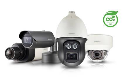 Las cámaras Wisenet X han sido galardonadas con la certificación de Huella de Carbono en el Reino Unido
