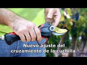 Las tijeras de podar eléctricas triunfan entre las herramientas agrícolas, destacando la Electrocoup 3015