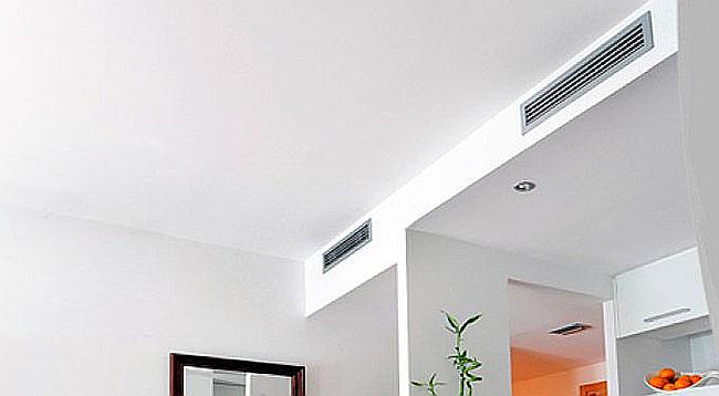 Sistema de aire acondicionado por conductos