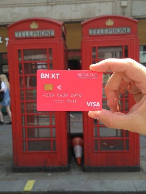 La tarjeta Bnext elimina las comisiones por tipo de cambio
