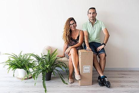 Laura González y Felipe Fontanet, HOMY JUNGLE.