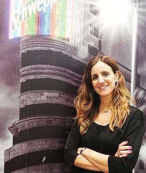 Laura Sánchez, Directora Comercial de Alimentación de Schweppes Suntory España.