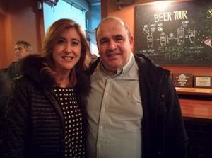 Laura Urquizu y Carlos Blanco.