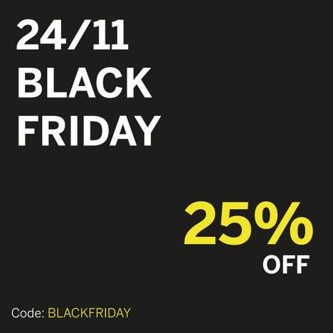 Lefrik ofrece un 25% de descuento en su webshop por el Black Friday