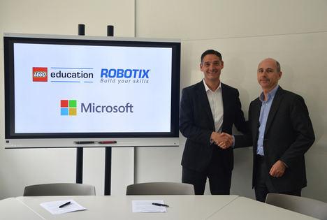 Microsoft y Lego Education ROBOTIX se unen para fomentar la programación, la robótica y habilidades STEM en los colegios en España