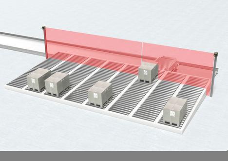 Protección más eficiente de sistemas de transporte multi-track