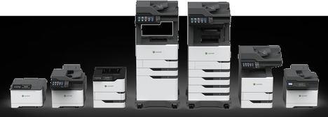 Lexmark presenta la nueva generación de impresoras y MFP monocromo para grandes grupos de trabajo
