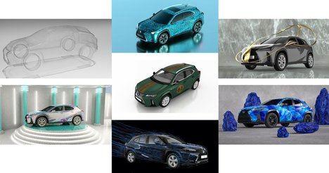 Lexus presenta los 7 proyectos del concurso de diseño Lexus Art Car
