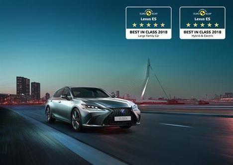 Galardón para el nuevo Lexus ES 300h