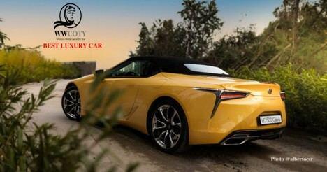 Lexus LC 500 cabrio mejor vehículo de lujo 2021