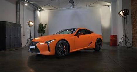 """El espectacular Lexus LC 500h """"Matte Prototype"""" en el Salón de Barcelona"""