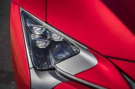 10 detalles del Coupé Lexus LC 2021