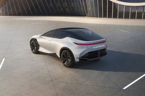 Estreno mundial del Lexus LF-Z Electrified