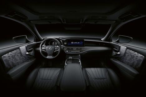 Espectacular interior del nuevo Lexus LS 500h