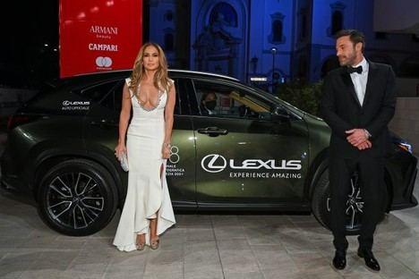El nuevo Lexus NX en la clausura del Festival de cine de Venecia