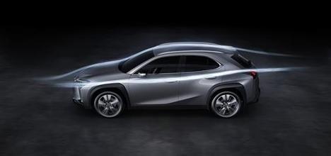 Innovaciones aerodinámicas pioneras en el nuevo Lexus UX 250h