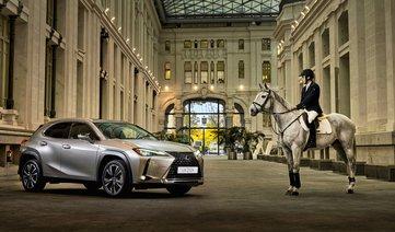 Lexus emplea Madrid Horse Week 2018 para lanzar el UX 250h Híbrido