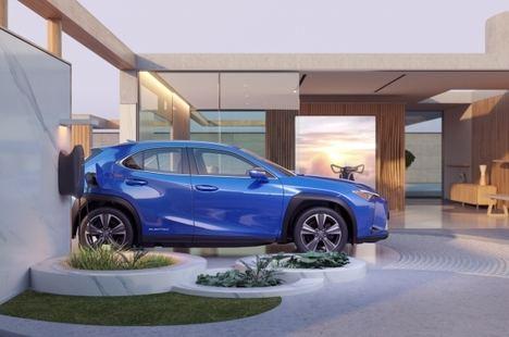 Un vehículo que no admite comparaciones, Lexus UX eléctrico