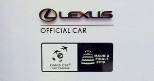 Lexus, Official Partner de la Davis Cup Madrid Finals 2019