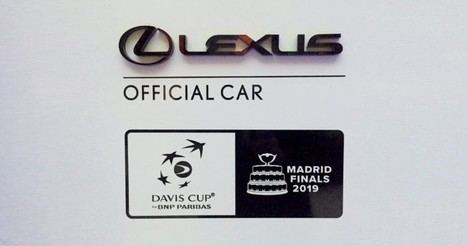 Lexus, Official Partner de la Davis Cup Madrid Finals 2019
