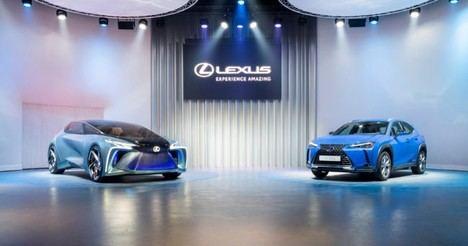 Lexus en el Salón de Ginebra 2020