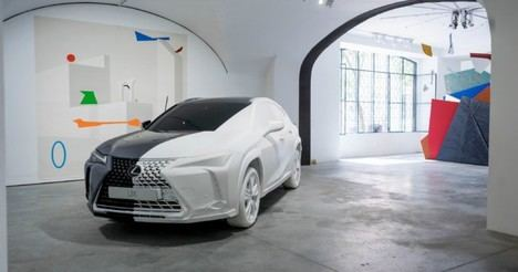 Lexus inaugura en Lisboa el espacio de Arte UX