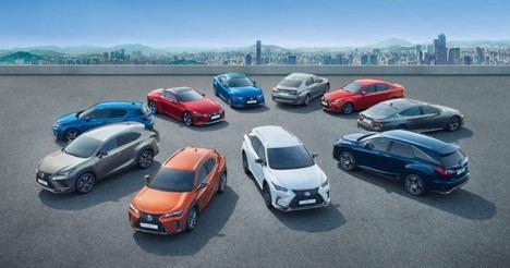 Lexus lanza Full Drive para toda la gama