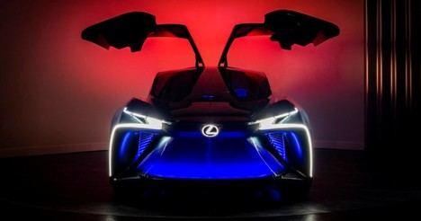 Lexus desvela el futuro del lujo