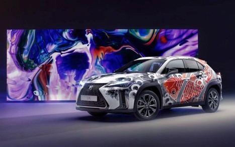 Lexus crea el primer coche tatuado del mundo