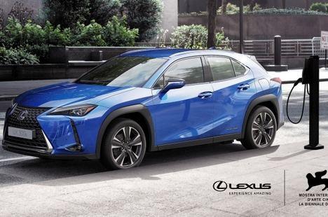 Lexus, vehículo oficial de la Bienal de Venecia