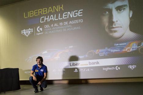 El torneo de Fernando Alonso 'Liberbank Challenge - FA Racing Logitech G' busca al piloto más rápido de Gran Turismo® Sport