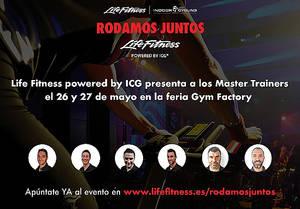 Life Fitness powered by ICG refuerza su equipo y lo presenta en Gym Factory