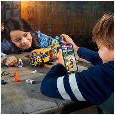 Llega al mercado LEGO® HiddenSide, la apuesta de LEGO por la Realidad Aumentada