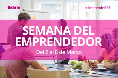 Llega la Semana del Emprendedor de IEBS, el mayor evento online para emprendedores