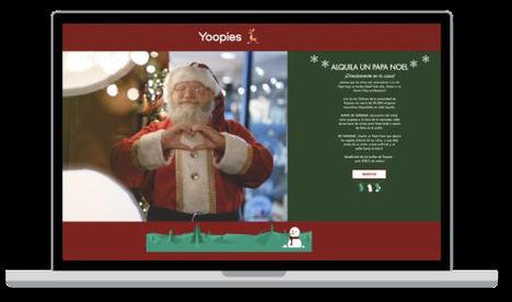 Este año, ¡alquila un Papá Noel con Yoopies!