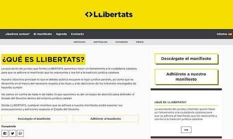 Llibertats lanza un primer análisis jurídico del proyecto de ley de referéndum y pone de manifiesto que dicho proyecto carece de garantías jurídicas y no resulta homologable internacionalmente