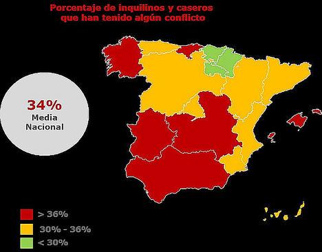 El 70% de los inquilinos españoles acusa a los caseros de alquilar viviendas en 'mal estado', Línea Directa