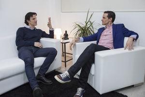 Lorenzo Serratosa e Iván García, presidente y CEO de Zonavalue.