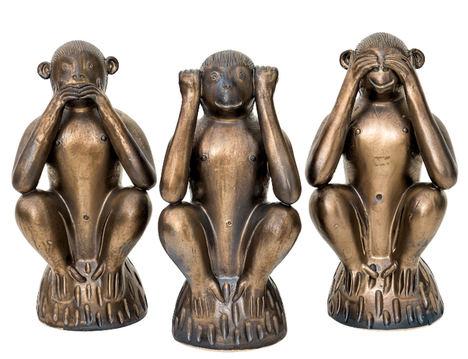 Los 3 monos sabios, ahora en tu casa gracias a Sandra Marcos
