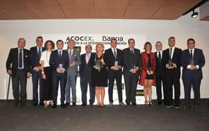 Los II Premios ACOCEX-BANKIA a la internacionalización reconocen los mejores profesionales y empresas