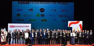 Los XII Premios Nacionales de Hostelería reconocen la labor de la Guía Michelin