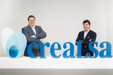 Los fundadores de Crealsa, José Molina y Javier Chisbert.