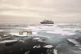 Los huéspedes de Silversea cruzan el icónico Paso del Noreste por primera vez en la historia de la compañía de cruceros