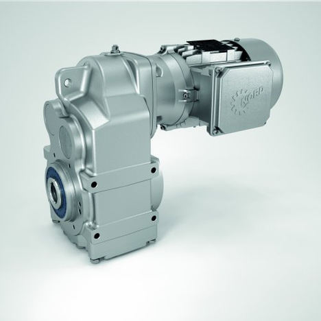 Los motorreductores de ejes paralelos UNICASE de NORD ofrecen una amplia gama de pares de 100 a 100.000 Nm y son especialmente adecuados para usarlos en la industria alimentaria y de bebidas, así como en la industria farmacéutica.