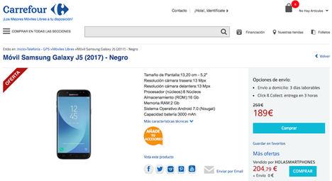 Los portátiles más baratos están en Carrefour, y los smartphones en PcComponentes
