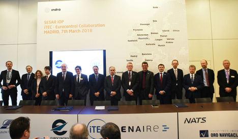 Los socios de Itec y Eurocontrol se unen para desarrollar conjuntamente funciones de interoperabilidad imprescindibles para impulsar el Cielo Único Europeo